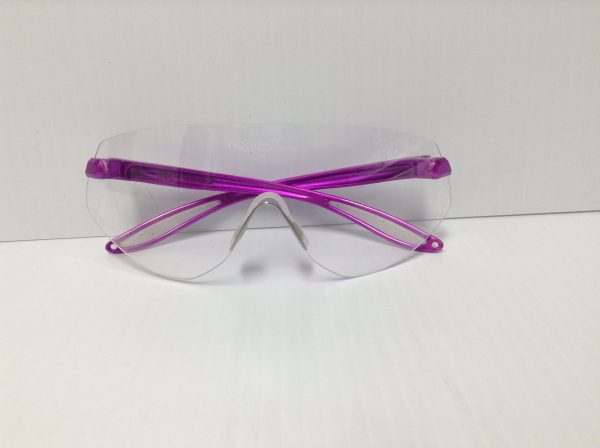 Safety Glasses Pink Frame SGClearC